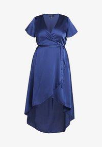 Missguided Plus - WRAP DRESS - Maxi dress - navy - 5