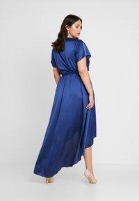 Missguided Plus - WRAP DRESS - Maxi dress - navy - 3