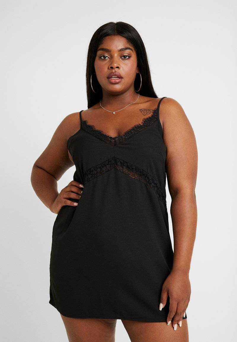 Missguided Plus - CAMI DRESS - Cocktailkjoler / festkjoler - black