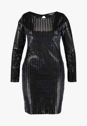 LONG SLEEVED BODYCON DRESS - Day dress - black