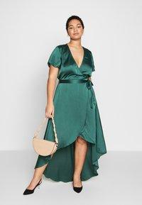 Missguided Plus - Vestito lungo - green - 1