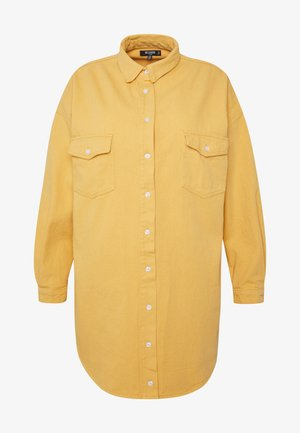 OVERSIZED BOYFRIEND DRESS - Day dress - yellow