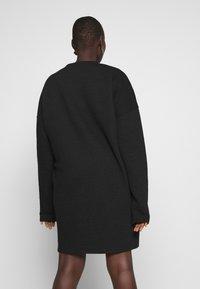 Missguided Plus - HORIZONTAL DRESS - Robe d'été - black - 2