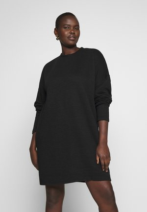 HORIZONTAL DRESS - Korte jurk - black