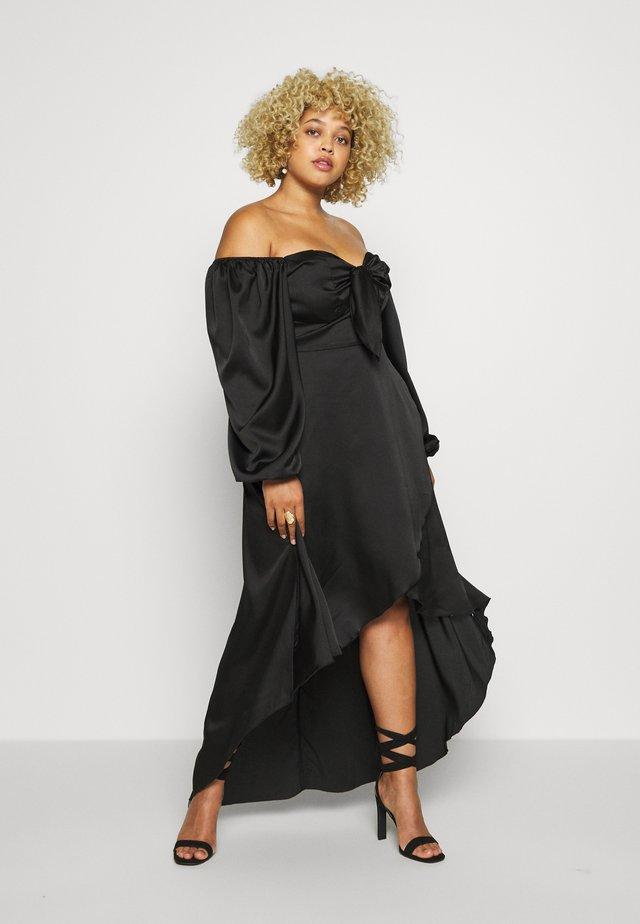 MILKMAID HIGH LOW MAXI DRESS - Vestido largo - black