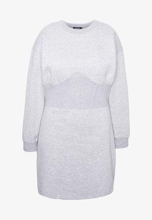 CORSET DRESS - Robe d'été - grey marl