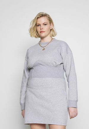 CORSET DRESS - Robe d'été - grey marl