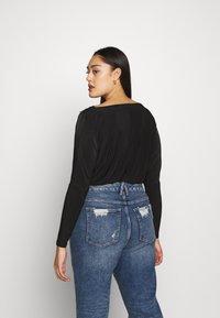 Missguided Plus - T-shirt à manches longues - black - 2