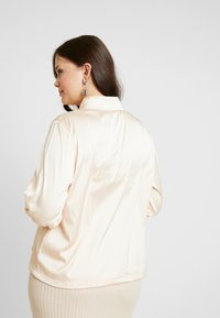 Missguided Plus - OVERSIZED DRAWSTRING WAIST - Košile - champagne - 2