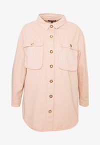 Missguided Plus - SHIRT WITH BUTTONS - Skjorte - pink - 4