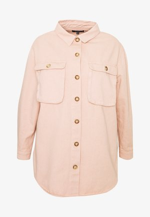 SHIRT WITH BUTTONS - Button-down blouse - pink