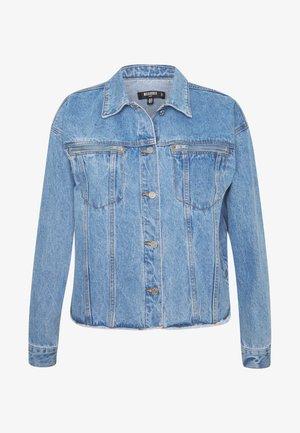 OVERSIZED JACKET - Džínová bunda - blue