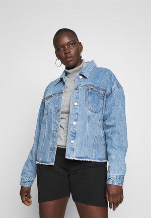 OVERSIZED JACKET - Jeansjakke - blue