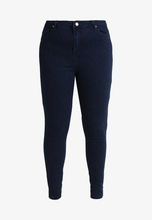 VICE HIGHWAISTED - Jeans Skinny Fit - dark blue indigo