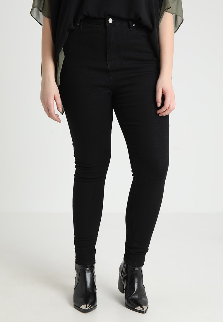 Missguided Plus - CURVE  - Jeans Skinny - black