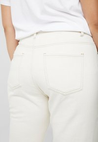 Missguided Plus - RIOT HIGH RISE - Relaxed fit jeans - cream - 3