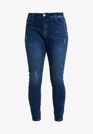 SINNER HIGH WAISTED SEAM DETAIL - Jeans Skinny - blue