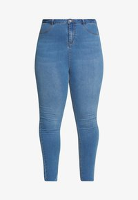 Missguided Plus - SUPERSOFT LAWLESS - Jeggings - light blue - 3