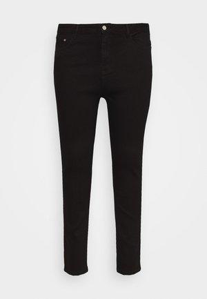PLUS HIGH WAISTED BACK SEAM DETAIL - Skinny džíny - black