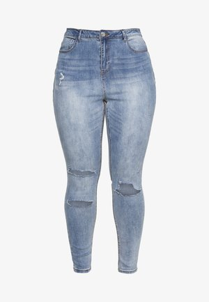 SINNER AUTHENTIC RIPPED - Jeans Skinny - blue