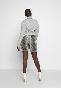Missguided Plus - CYCLING 3 PACK  - Short - black charcoal - 3