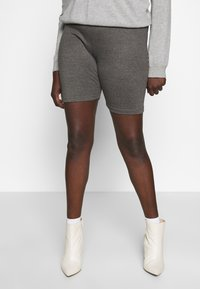 Missguided Plus - CYCLING 3 PACK  - Short - black charcoal - 2