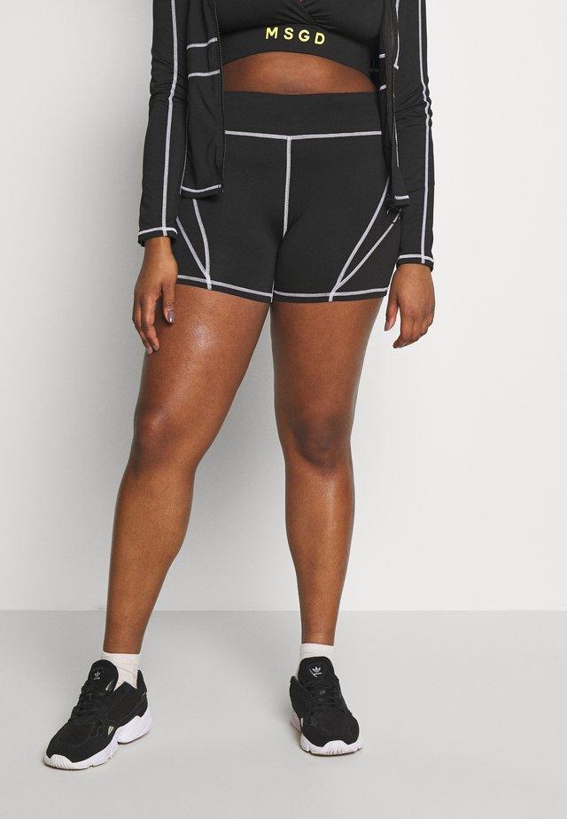 PANEL CYCLING - Shorts - black