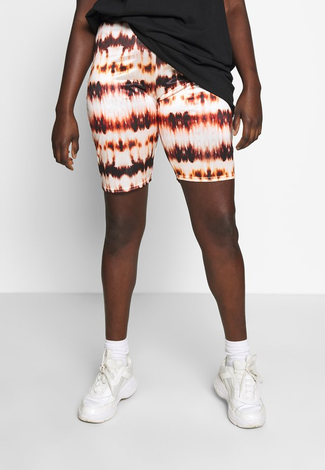 TIE DYE CYCLE  - Shorts - rust