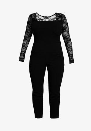 FULL SLEEVE JUMPSUIT - Jumpsuit - black