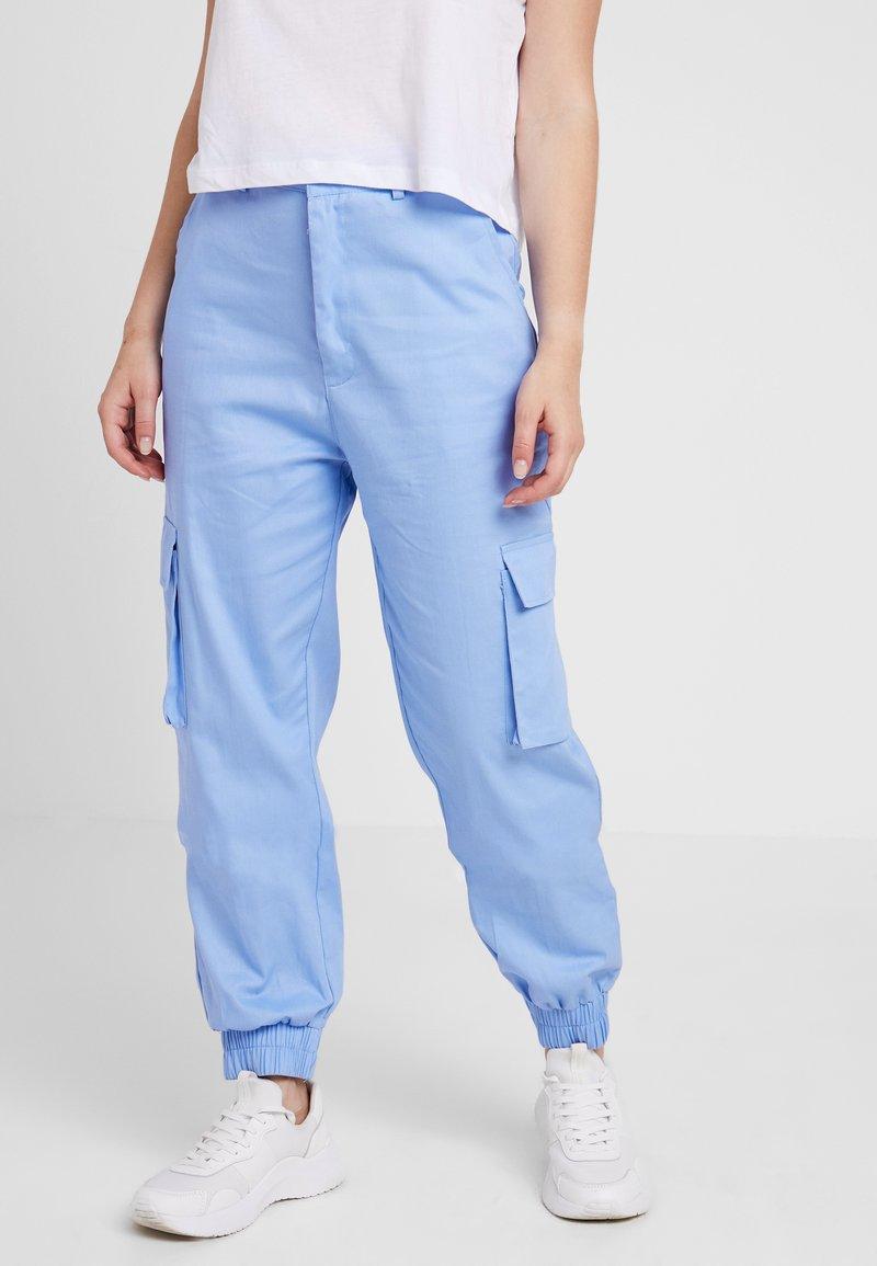 Missguided Petite - PLAIN TROUSER - Pantaloni cargo - lilac