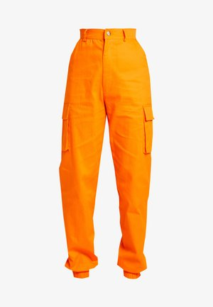 PLAIN CARGO TROUSER - Bukse - orange