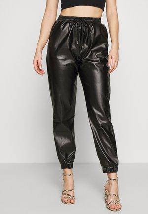 PETITE JOGGERS - Pantaloni - black