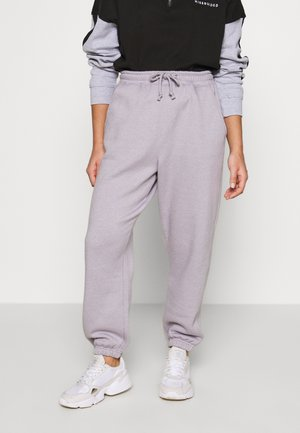 OVERSIZED 90S JOGGER - Pantalon de survêtement - lilac grey