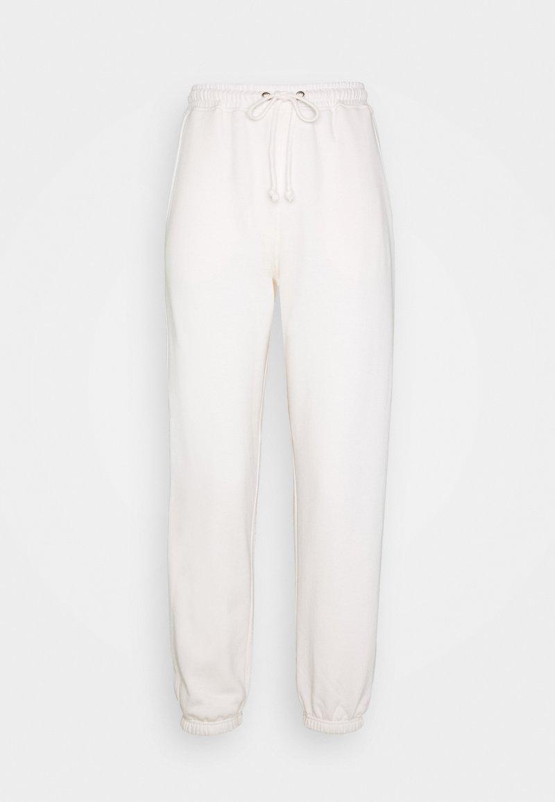 Missguided Petite - PETITE 90S JOGGERS - Joggebukse - white