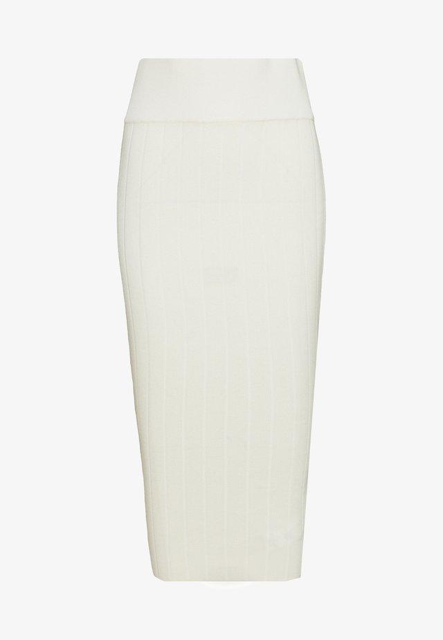 MIDAXI SKIRT - Kokerrok - white