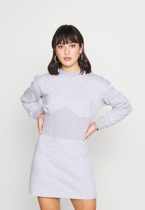 CORSET DRESS - Vestido informal - grey marl
