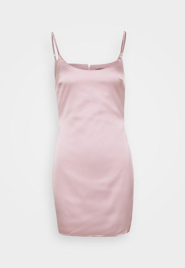SLIP DRESS - Kjole - mauve