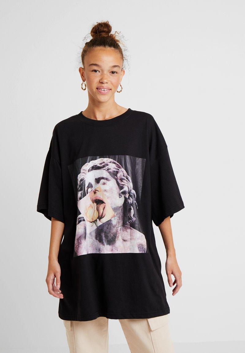 Missguided Petite - STATUE - Langarmshirt - black