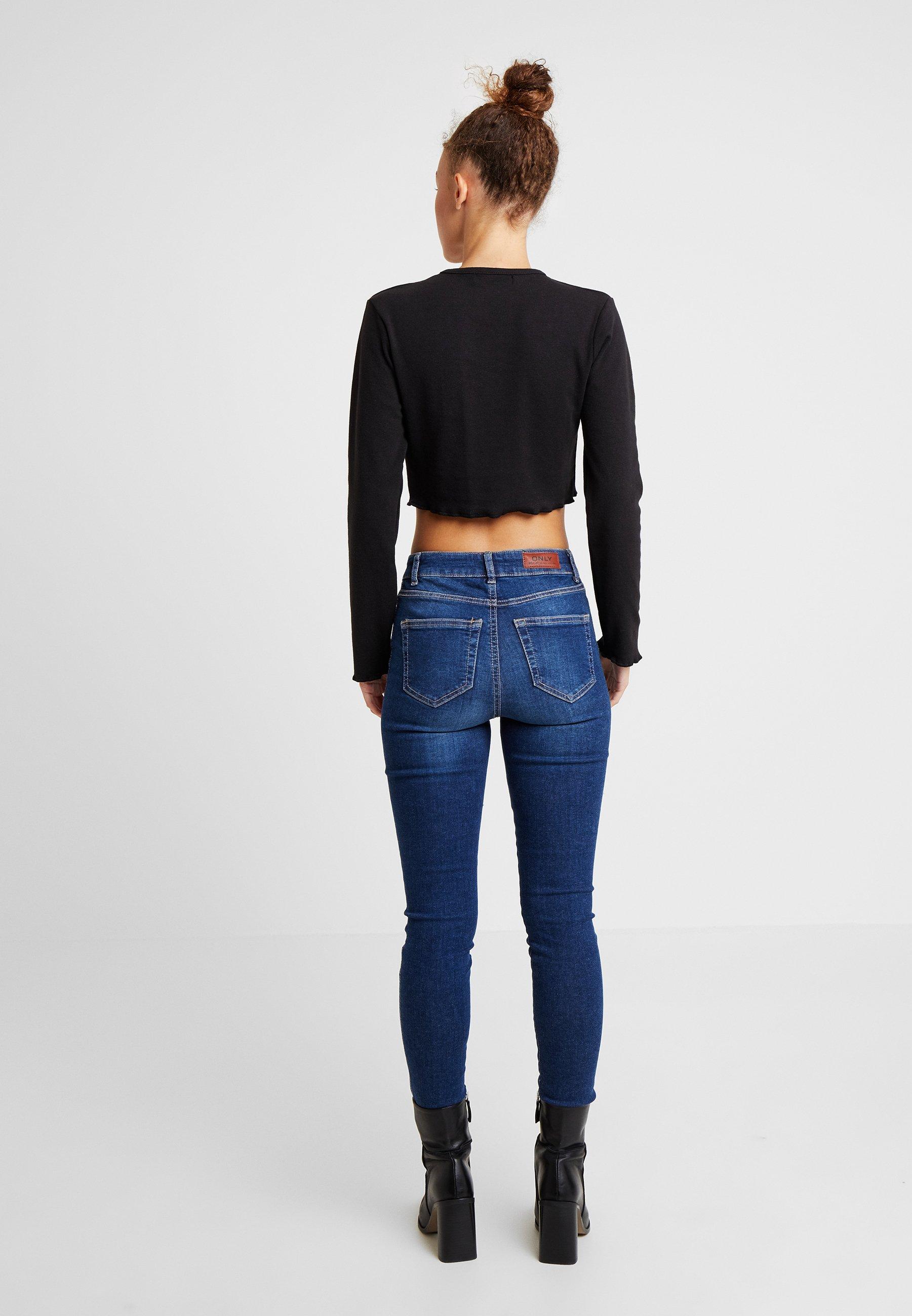À Longues Lettuce Black camel Crop Long Missguided Manches 2 PackT Sleeve Petite shirt Hem MGVLqUSpz