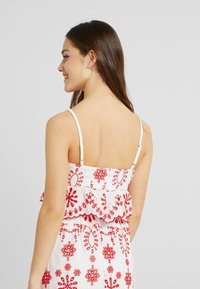 Missguided Petite - PEPLUM CAMI CROP - Top - white - 2