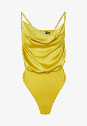 COWL NECK BODYSUIT - Top - yellow