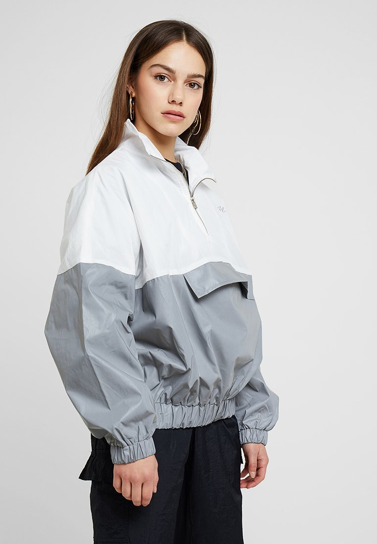 Missguided Petite - REFLECTIVE COLOURBLOCK  - Windbreaker - multi