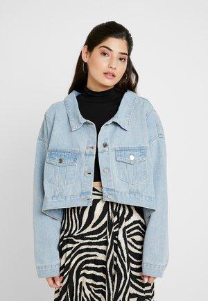 DROP HEM OVERSIZED JACKET - Veste en jean - light blue