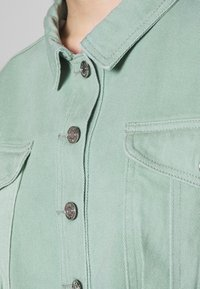 Missguided Petite - CROPPED RAW JACKET - Denim jacket - mint - 5