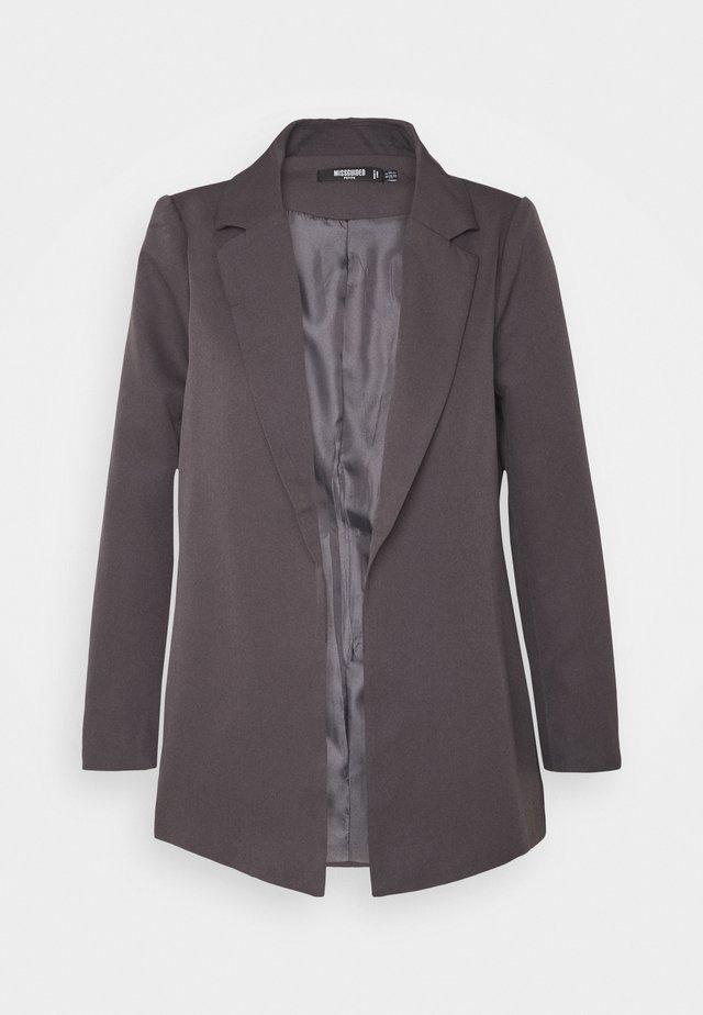BOYFRIEND - Krótki płaszcz - charcoal