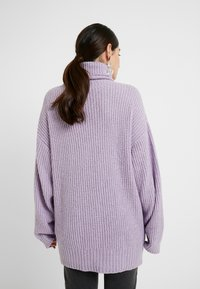 Missguided Petite - ROLLNECK OVERSIZED JUMPER - Trui - lilac - 2