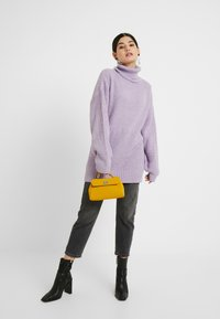 Missguided Petite - ROLLNECK OVERSIZED JUMPER - Trui - lilac - 1