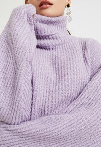 Missguided Petite - ROLLNECK OVERSIZED JUMPER - Trui - lilac - 5