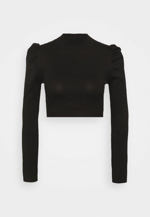 PUFF SLEEVE - Trui - black