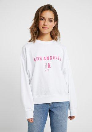 FLORIDA GRAPHIC - Sweatshirt - white